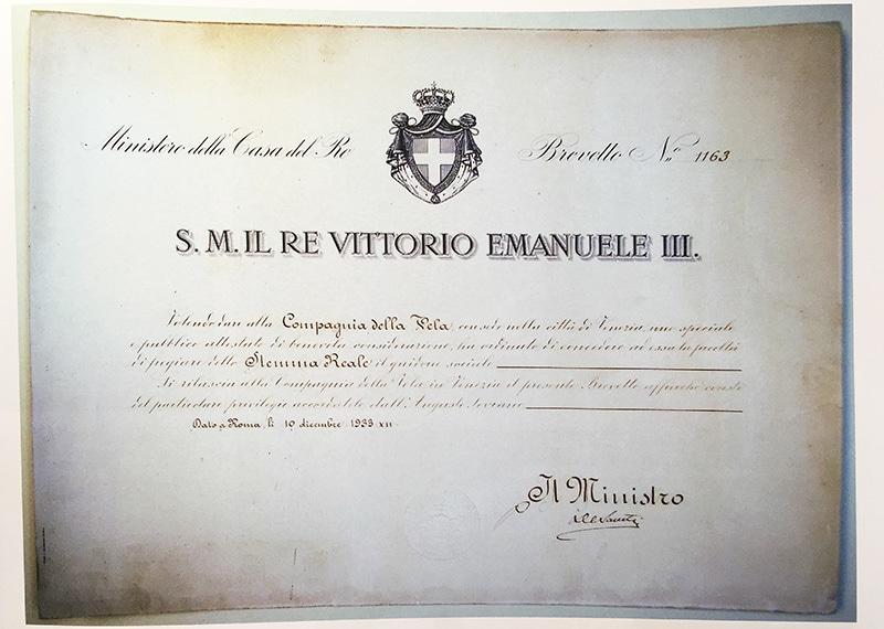 1933_brevetto-sociale-compagnia-della-vela-venezia